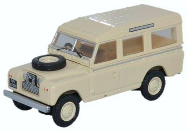 Oxford 76LAN2019 LAN2019 1/76 OO Land Rover Series 2 LWB Station Wagon Limestone