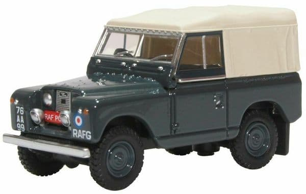 Oxford 76LR2S007 1/76 OO Scale Land Rover Series 2 Royal Air Force RAF Police