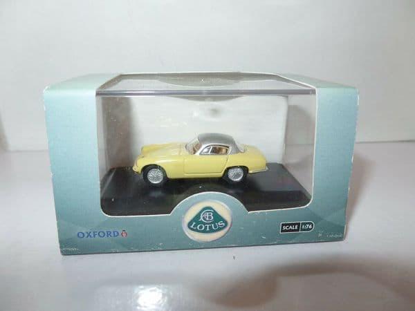 Oxford 76LTE003 LTE003 1/76 OO Scale Lotus Elite Sunburst Yellow & Silver