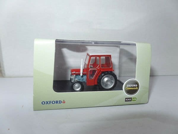 Oxford 76MF001 MF001 1/76 OO Scale Massey  Ferguson 135 Tractor Red White Cab