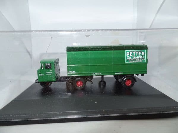 Oxford 76MH008 MH008 Scammell Mechanical Horse Southern Railway Petter MIB