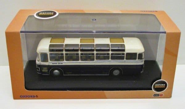Oxford 76MW6001 MW6001 1/76 OO Bristol MW MW6G Coach Royal Blue  Bournemouth