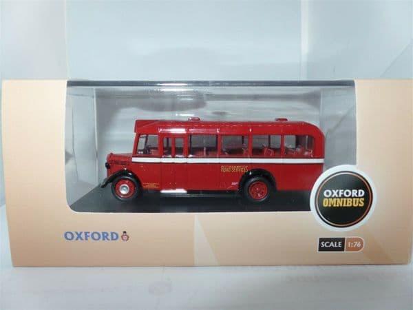 Oxford 76OWB014 OWB014 1/76 OO Scale Bedford OWB Bus Isle Of Man Road Services