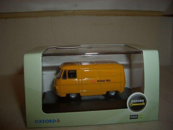Oxford 76PB002 PB002 1/76 Commer PB Van British Rail Railways Barbed Wire Yellow