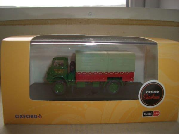 Oxford 76QLD003 QLD003 1/76 OO Scale Bedford QLD Truck Bertam Mills Circus