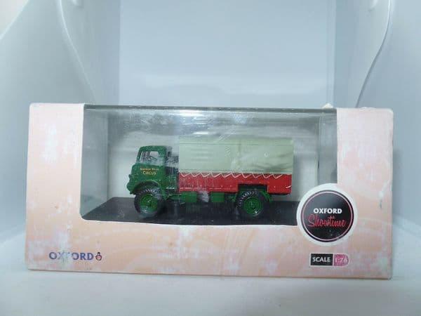 Oxford 76QLD003 QLD003 1/76 OO Scale Bedford QLD Truck Bertam Mills Circus WornB