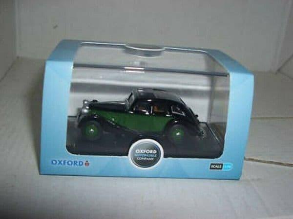 Oxford 76RK003 RK003 1/76 OO Scale Riley Kestrel Black / Green
