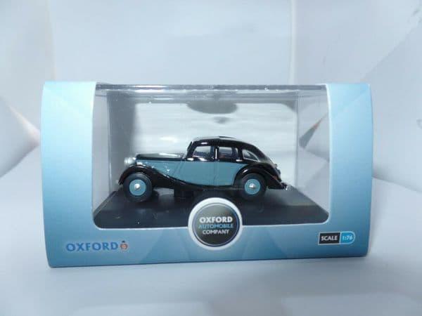 Oxford 76RK005 RK005 1/76 OO Scale Riley Kestrel Black / Blue