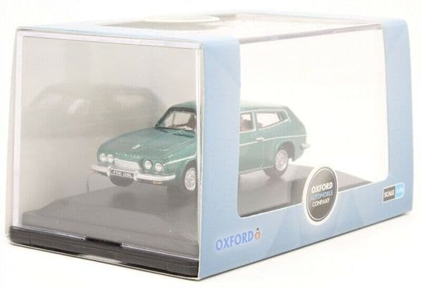 Oxford 76RS005 RS005 1:76 Scale OO Gauge Reliant Scimitar Tudor Green Metallic