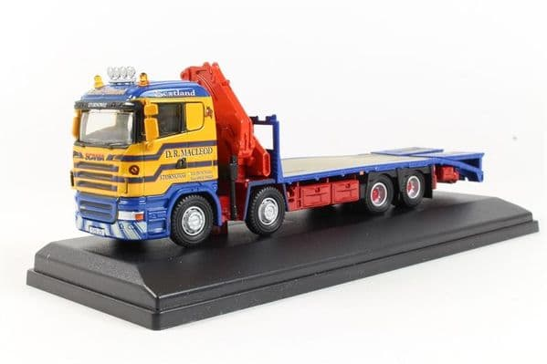 Oxford 76SCL001 SCL001 1/76 OO Scale Scania Crane Lorry D R Macleod