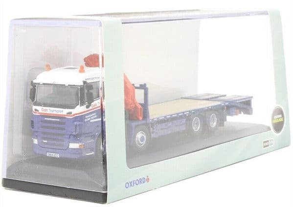 Oxford 76SCL004 SCL004 1/76 Scania Crane Lorry Galt Transport Dumbarton Scotland