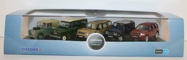 Oxford 76SET32 Set 32 5 Piece Land Rover Set I II Disco Defender Freelander Mint