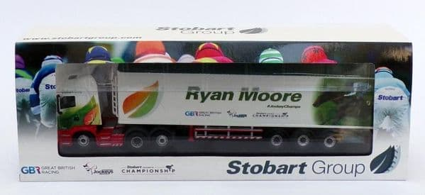 Oxford 76SHL08WF SHL08WF 1/76 OO Scania Walking Floor Eddie Stobart  Ryan Moore Jockey