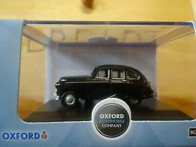 Oxford 76SV001 SV001 1/76 OO Standard Vanguard Black