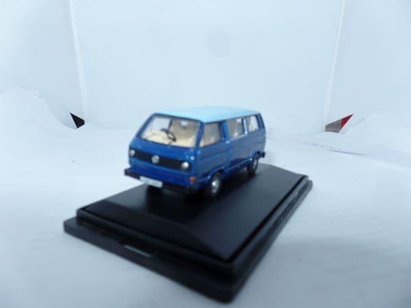 Oxford 76T25002 T25002 1/76 OO Volkswagan VW T25 Transporter Cornat Guinea Blue FAULT