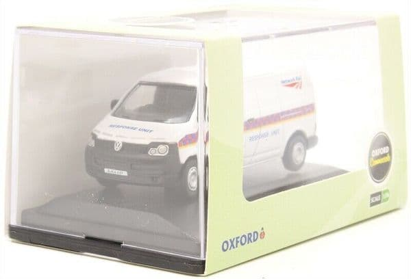 OXFORD 76T5V004 T5V004 1/76 OO Scale Volkswagen VW T5 VAN NETWORK RAIL Response