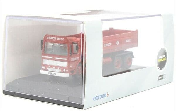 Oxford 76TIP005 TIP005 AEC Ergomatic Tipper London Brick Company 1:76 OO Scale