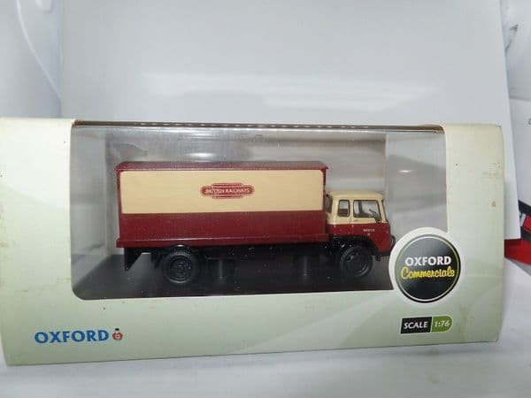 Oxford 76TK010 TK010 1/76 OO Scale Bedford TK  Box Van British Rail Railways