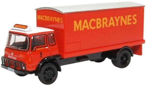OXFORD 76TK016 TK016 1:76 OO Scale Bedford TK Box Van Macbraynes Bus Truck