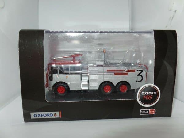 Oxford 76TN004 TN004 Thornycroft Nubian Major Isle of Man Airport Fire Engine