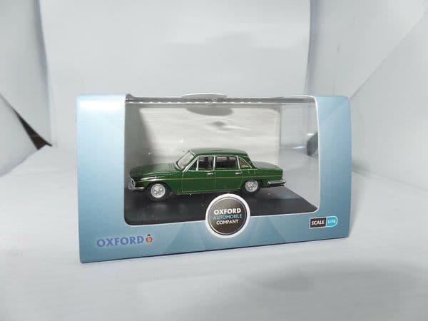 Oxford 76TP006 TP006 1/76 OO Scale Triumph 2500  British Racing Green Gold Stripe