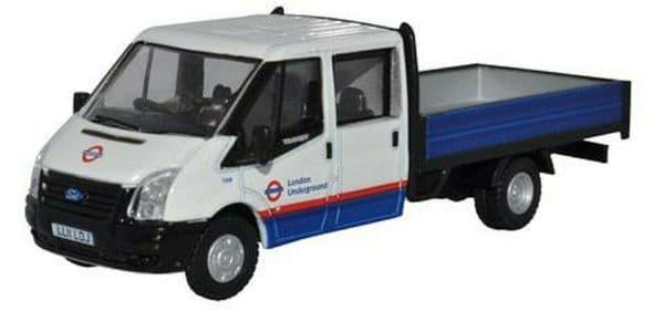 Oxford 76TPU003 TPU003 1/76 OO Ford Transit Dropside Van London Underground