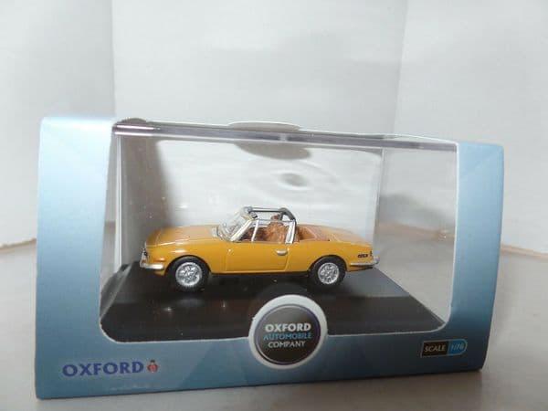 Oxford 76TS001 TS001 1/76 OO Scale Triumph Stag Saffron Yellow