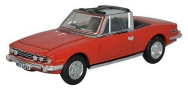 Oxford 76TS003 TS003 1/76 OO Scale Triumph Stag Pimiento Red Orange