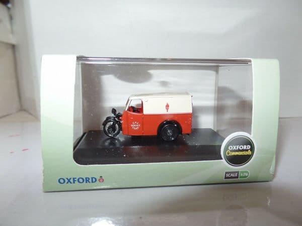 Oxford 76TV004 TV004 1/76 OO Scale Tricycle Van Gas & Coke Service