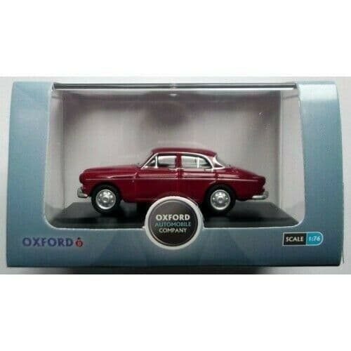 Oxford 76VA002 VA002 1/76 OO Scale Volvo Amazon Cherry Red