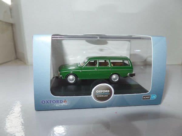 Oxford 76VE001 VE001 1/76 OO Scale Volvo 245 Estate Green