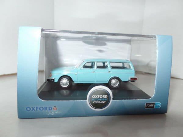 Oxford 76VE003 VE003 1/76 OO Scale Volvo 245 Estate Light Blue
