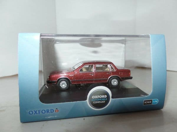 Oxford 76VO002 VO002 1/76 OO Scale Volvo 760 Red Wood Redwood Metallic