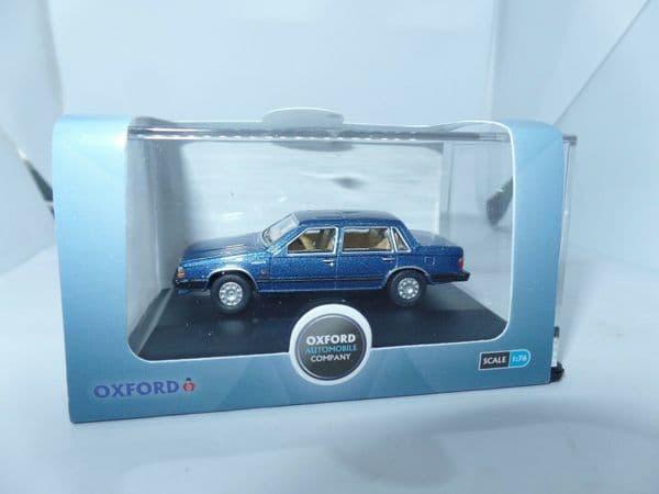 Oxford 76VO003 VO003 1/76 OO Scale  Volvo 760 Blue Metallic