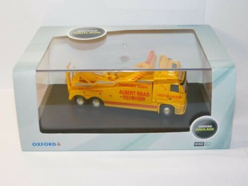 Oxford 76VOL01REC VOL01REC 1/76 OO Scale Volvo FH Boniface Recovery Truck  Albert Road