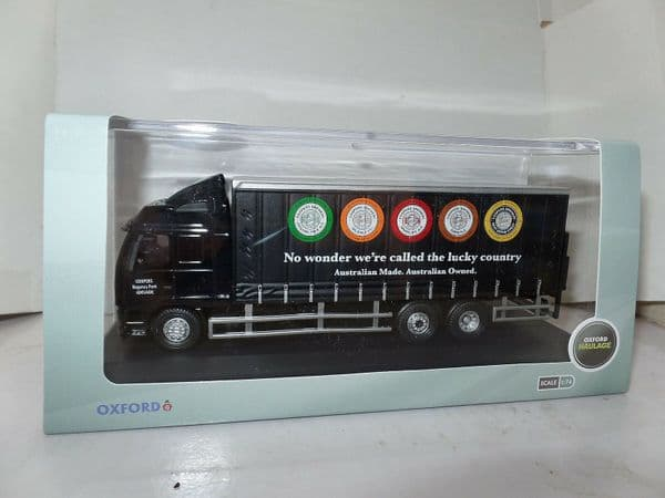 Oxford 76VOL03CL VOL03CL OO Volvo FH Truck Curtainside Coopers Brewery Australia