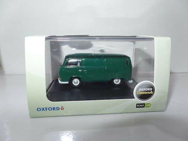 Oxford 76VW001 VW001 1/76 OO Scale VW Transporter T2 Panel Van Peru Green