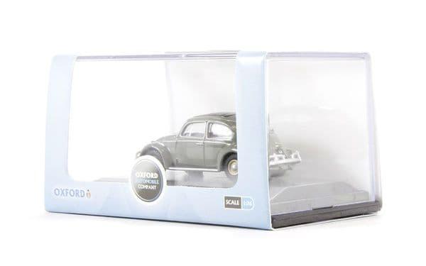 Oxford 76VWB004 VWB004 1/76 OO Scale VW Volkswagen Beetle Anthracite Grey