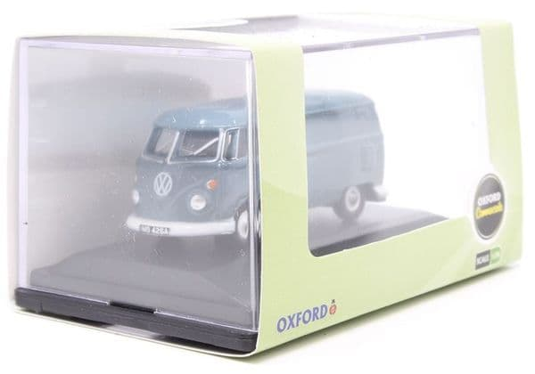 Oxford 76VWS003 VWS003 1/76 OO Scale VW T1  Splitty Van Dove Blue