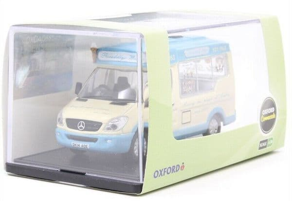 Oxford 76WM007 Whitby Mondial Ice Cream Van Piccadilly Whip 1:76 Scale
