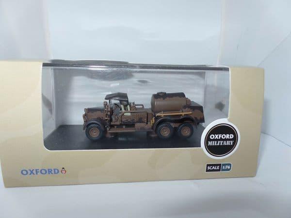 Oxford 76WOT001 WOT001 1/76 OO Ford WOT1 Crash Tender Mickey Mouse RAF Scrampton Worn Box