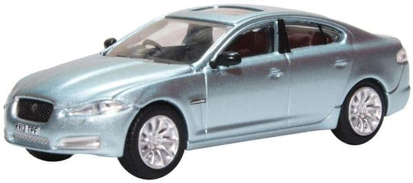 Oxford 76XF006 XF006 1/76 OO Scale Jaguar XF 2013  Crystal Blue