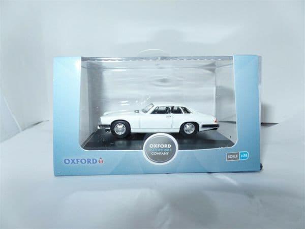 Oxford 76XJS006 XJS006 1/76 OO Scale Jaguar XJS White The Saint ST1