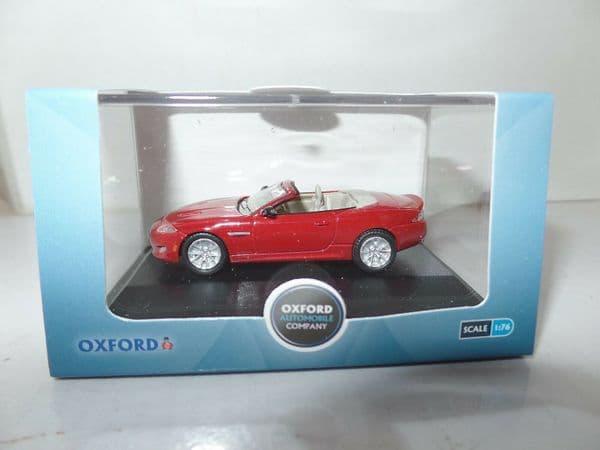 Oxford 76XK004 XK004 1/76 OO Scale Jaguar XK 2013 Convertable Italian Racing Red