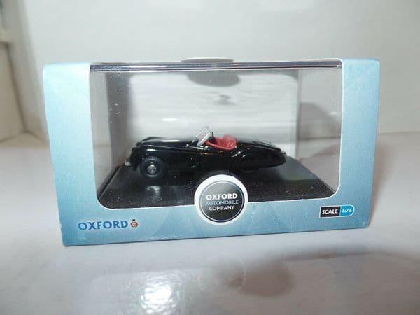 Oxford 76XK120005 XK120005 1/76 OO Scale Jaguar XK120 Black