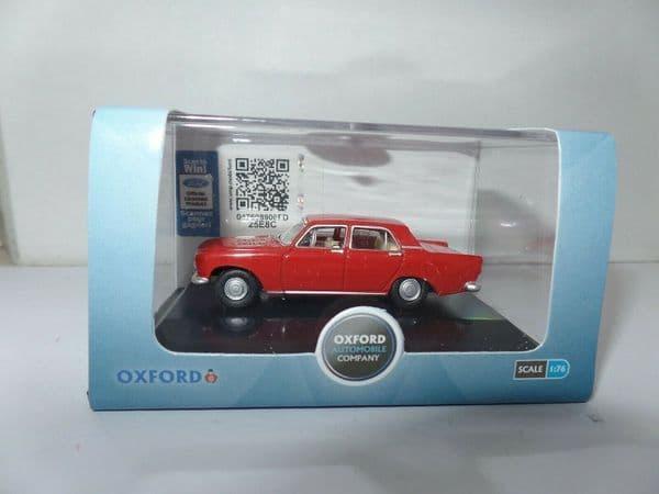 Oxford 76ZEP008 ZEP008 1/76 OO Scale Ford Zephyr Monaco Red