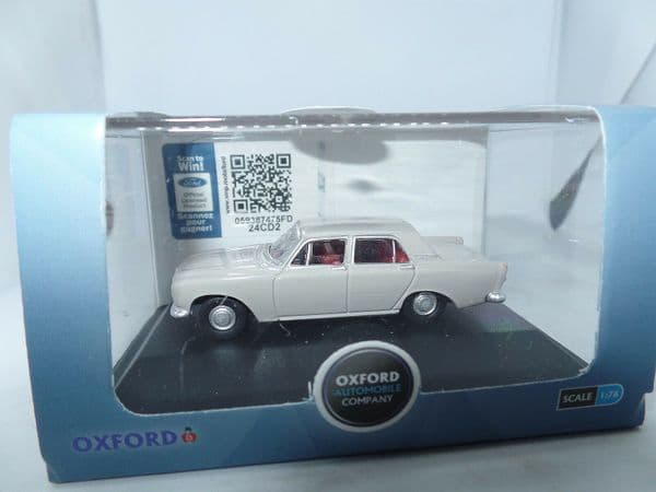 Oxford 76ZEP010 ZEP010 1/76 OO Scale Ford Zephyr Purbeck Grey
