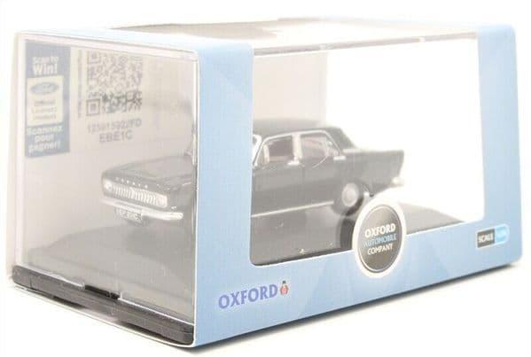 Oxford 76ZEP012 ZEP012 1/76 OO Scale Ford Zephyr Black