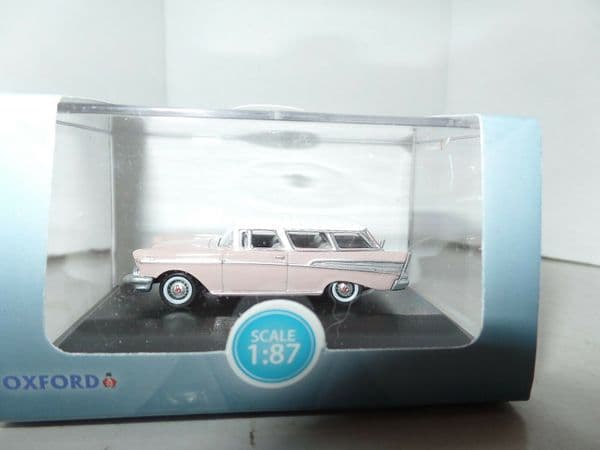 Oxford 87CN57001 CN57001 1/87 HO Scale Chevrolet Nomad 1957 Dusk Pearl Imperial Ivory