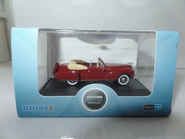 Oxford 87LC41001 LC41001 1/87 HO Scale Lincoln Continental 1941 Maroon